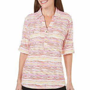*5/$20* NWT Women's Small Top Blouse Colorful